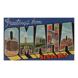 Omaha, NebraskaLarge Letter ScenesOmaha, NE 2 Poster