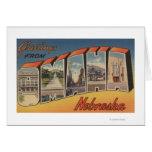 Omaha, NebraskaLarge Letter ScenesOmaha, NE Card
