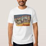 Omaha, NebraskaLarge Letter ScenesOmaha, NE T-Shirt