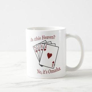 Omaha Poker Coffee Mug