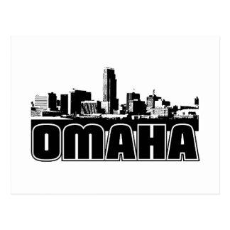 Omaha Skyline Postcard
