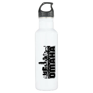 Omaha Skyline Stainless Steel Water Bottle