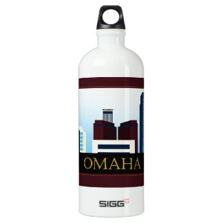 Omaha Skyline Water Bottle