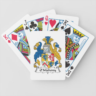 O'Mahony Family Crest Bicycle Poker Cards
