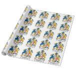 O'Mahony Family Crest Wrapping Paper