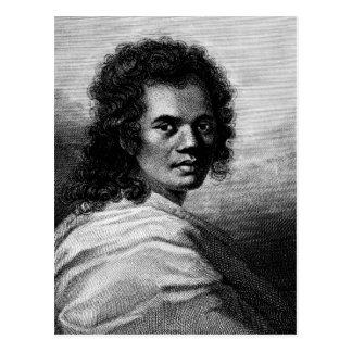 Omai, engraved by J.Caldwall, 1777 Postcard