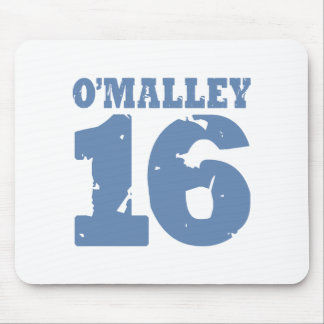 O'Malley 16 Uniform Number Mouse Pad