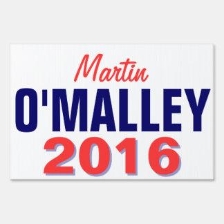 O'Malley 2016 Carteles