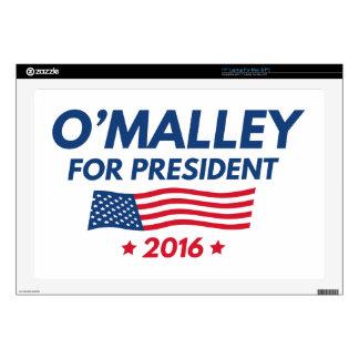 "O'Malley For President 17"" Laptop Skins"