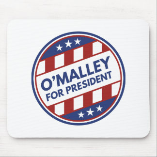 O'Malley For President Mouse Pad