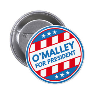 O'Malley For President Pinback Button