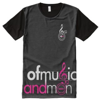 OMAM Official all-over tee