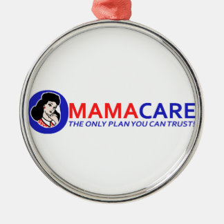 Omamacare Metal Ornament