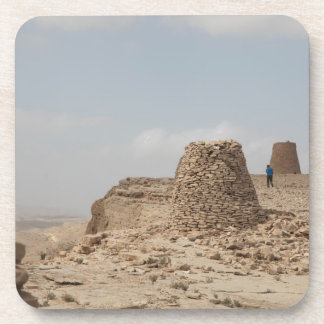 Oman ancient burial site beverage coaster