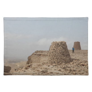 Oman ancient burial site placemat