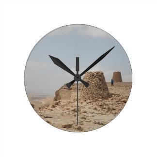 Oman ancient burial site round clock