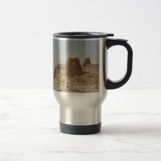 Oman ancient burial site travel mug