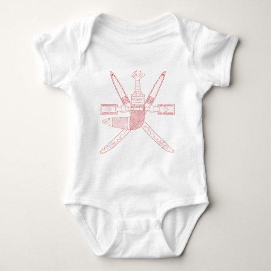 Oman Coat Of Arms Baby Bodysuit