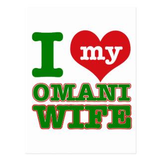 Oman Country designs Postcard