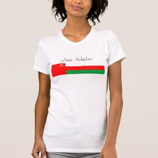 oman country flag nation republic symbol arab text T-Shirt
