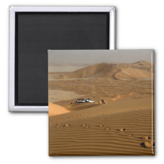 Omán, desierto de Khali del Al de la frotación, co Imán Cuadrado