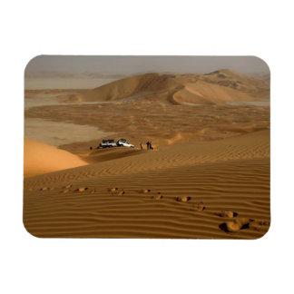 Omán, desierto de Khali del Al de la frotación, co Imán Rectangular
