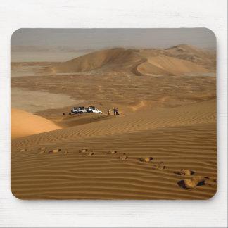 Omán, desierto de Khali del Al de la frotación, co Mouse Pad
