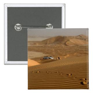 Omán, desierto de Khali del Al de la frotación, co Pin Cuadrado