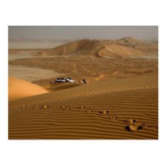 Omán, desierto de Khali del Al de la frotación, Tarjeta Postal