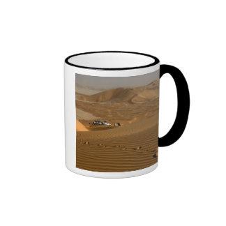 Omán, desierto de Khali del Al de la frotación, Taza De Dos Colores