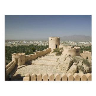 Omán, el llano de Batinah, Nakhal. Fuerte de Tarjetas Postales