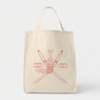 oman emblem tote bag