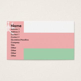 Oman Flag Business Card