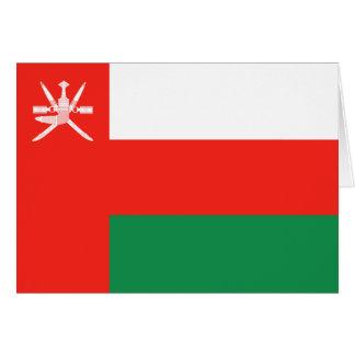 Oman Flag Notecard