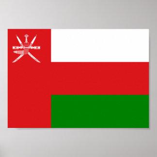 Oman Flag Poster