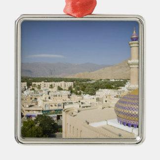 Omán, montañas occidentales de Hajar, Nizwa. Nizwa Adorno Navideño Cuadrado De Metal