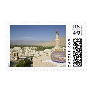 Omán, montañas occidentales de Hajar, Nizwa. Nizwa Sello Postal