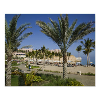 Oman, Muscat, Al, Jissah. Shangri, La Barr Al, Poster