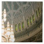 Omán, Muscat, mezquita de Qaboos del sultán Azulejos