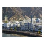 Omán, Muscat, Mutrah. Edificios a lo largo de Mutr Postal