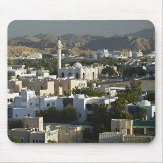 Oman, Muscat, Qurm. Buildings of Qurm Area / 2 Mouse Pad