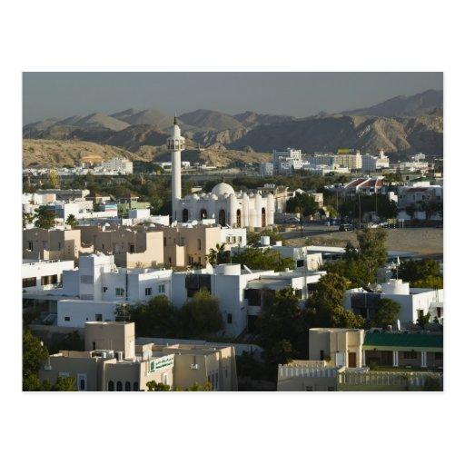 Oman, Muscat, Qurm. Buildings of Qurm Area / 2 Postcards