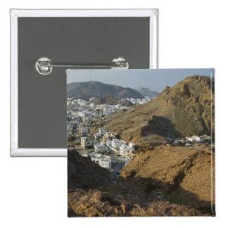 Omán, Muscat, Ruwi/Al Hamriyah. Vista de Ruwi/ Pin