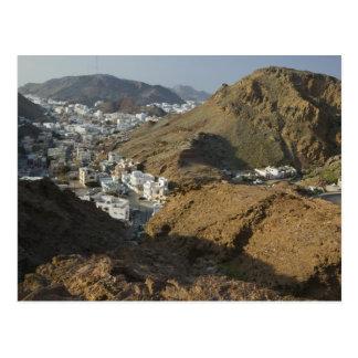 Omán, Muscat, Ruwi/Al Hamriyah. Vista de Ruwi/ Tarjetas Postales