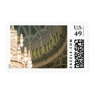 Oman, Muscat, Sultan Qaboos mosque Stamp