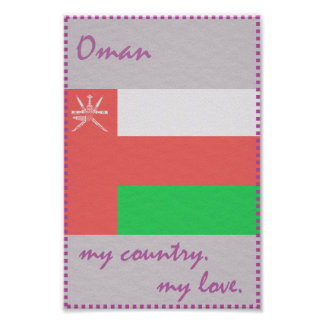 Oman My Country My Love Poster