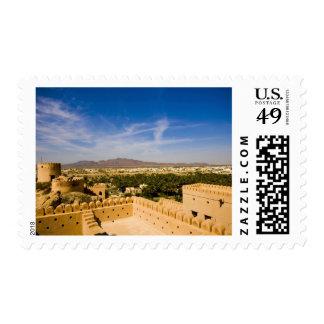 Oman, Nakhl, fortress Postage