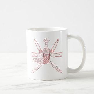 Oman National Emblem Classic White Coffee Mug