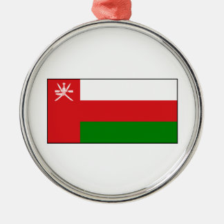 Oman – Omani Flag Metal Ornament