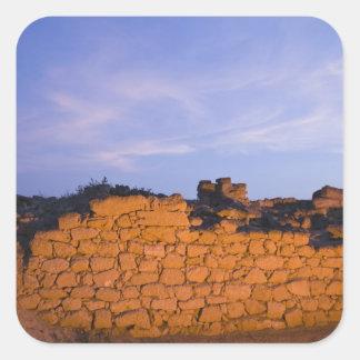 Omán, región de Dhofar, Salalah. Al, Baleed Pegatina Cuadrada